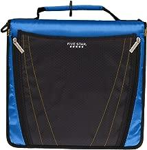 Five Star Zipper Binder, 2 Inch 3 Ring Binder, Expanding Pocket, Durable, Blue (73301)