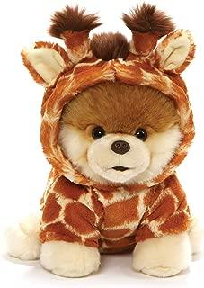 GUND World's Cutest Dog Boo Giraffe Stuffed Animal Plush, Multicolor, 9