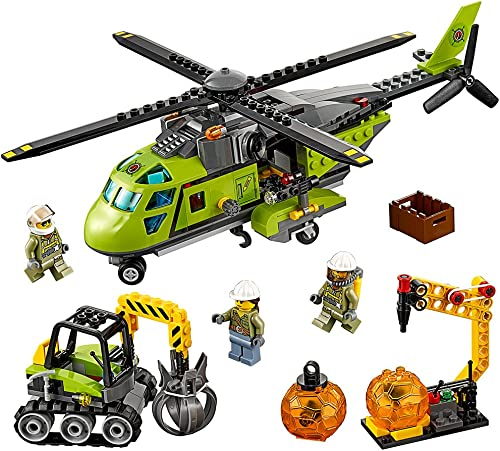 selección larga LEGO City Volcano Explorers 60123 60123 60123 Volcano Supply Helicopter Building Kit (330 Piece) by LEGO  seguro de calidad