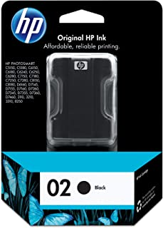 HP 02 | Ink Cartridge | Black | C8721WN