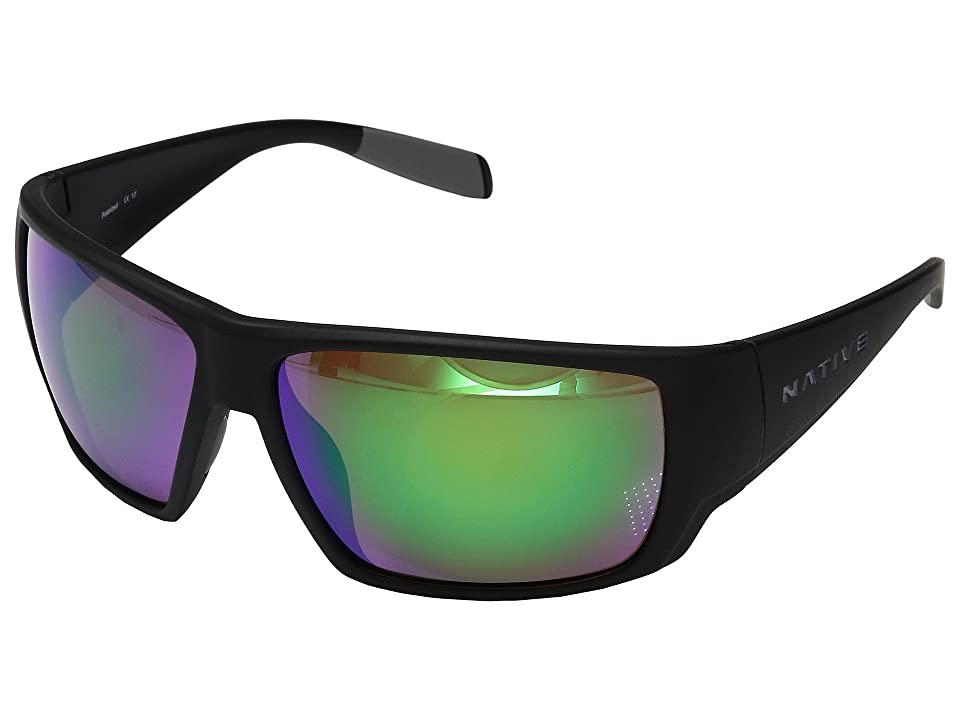 Native Eyewear Sightcaster (Matte Black 1) Sport Sunglasses