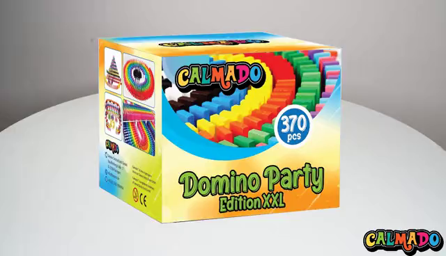 "Accessories 370pcs Domino Stones // Dominoes Wooden /""Domino Party Edition XXL/"" Set Booklet Calmado Bag"
