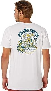 Swell Men's Tropical Grip Mens Tee Short Sleeve Cotton Green