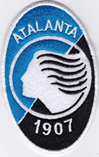 Patch ATALANTA CALCIO club football serie replica cm 5,5x9 toppa ricamo -1000