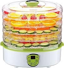 Food Dehydrator,PowerDoF FD280B Premium Countertop Food Dehydrator with 5 Adjustable Tray Drying System