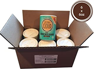 Coconut Cloud: Coffee Creamer, Vanilla, Coconut Milk Powder   Vegan Mother's Day Gift Non-Dairy, Gluten-Free (Perfect for Home, Offices, Parties, Group Events), Pack of 6 Canisters, 6 ounce