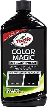 Turtle Wax T-374KTR Color Magic Car Polish, Black - 16 oz.: image