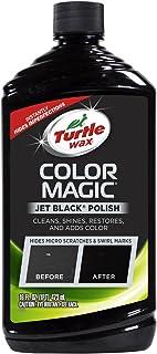 Turtle Wax T-374KTR Color Magic Car Polish، Black - 16 اونس.