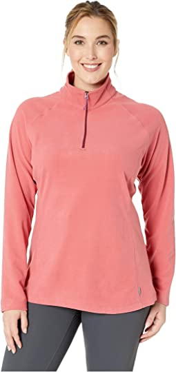 Plus Size Alpha Beta 1/4 Zip