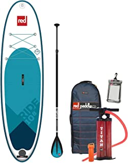 Red Paddle Co 2019 10'8 Ride Inflatable SUP with Alloy Nylon 3 Part Paddle