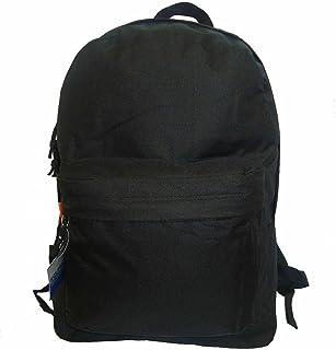 37e3f43da3 Classic Bookbag Basic Backpack School Bookbag Student Simple Emergency  Survival Daypack