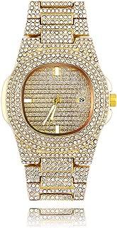 diamond maxx gold watch