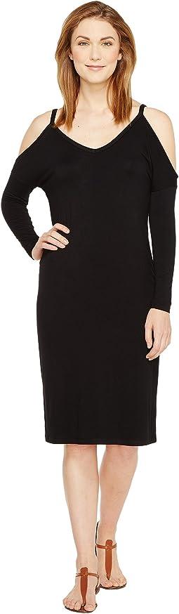 Culture Phit - Chante Cold Shoulder Midi Dress