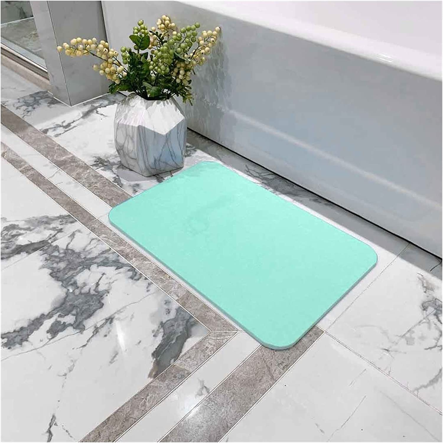 YSYSPJM Bath Blanket Easy-to-use mat Quick-Drying 300400mm Carpe Toilet New life