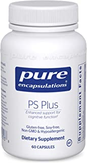 Pure Encapsulations - PS Plus - Hypoallergenic Formula for Memory, Mental Processing and Overall Cognitive Function - 60 C...