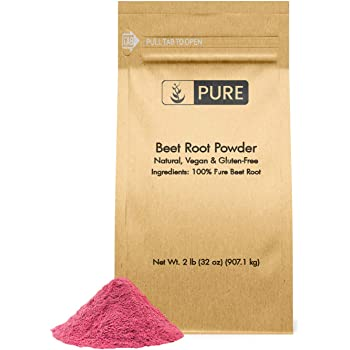 Natural Beet Root Powder, 2lb, 3500 mg Serving, No Fillers, Vegan, Gluten-Free, Made in USA, Pure & Potent, Beet Root Extract with No Additives, Eco-Friendly Packaging