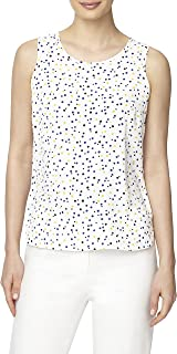 Anne Klein womens Sleeveless Woven Shell With Darts Blouse
