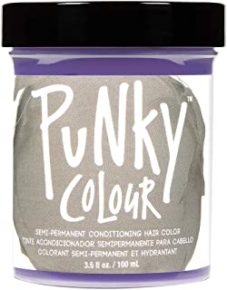Punky Platinum Blonde Toner Conditioning Hair Color, Vegan, PPD and Paraben Free, 3.5oz
