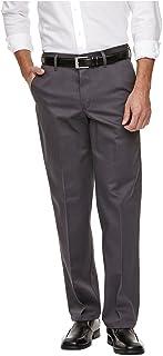 Haggar H26-Men's No Iron Classic Fit Twill Trouser
