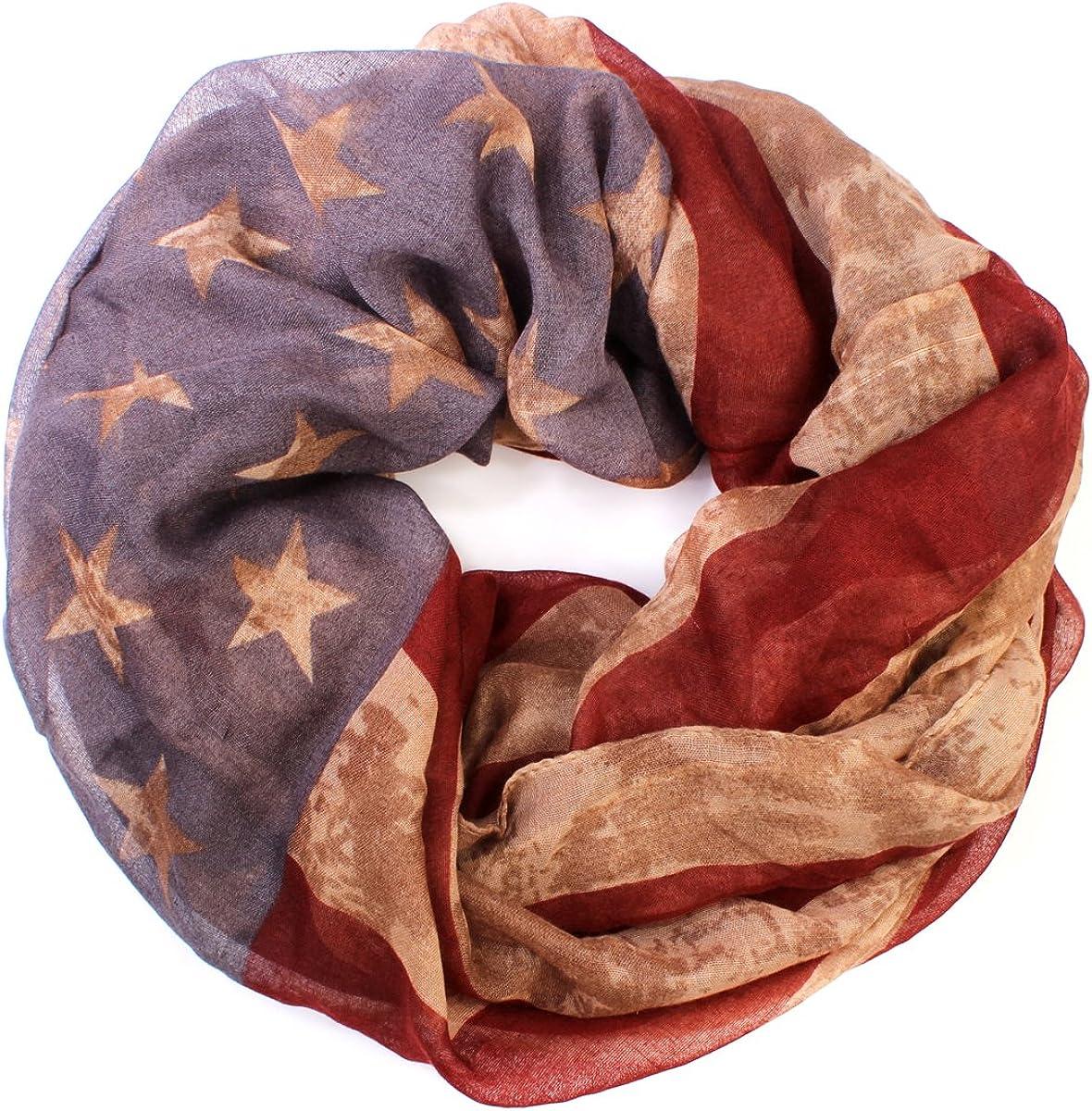American Flag Patriotic Shawl Wrap Cardi - July 4 USA Stars Stripes Open Kimono Cardigan, Long Vest, Scarf