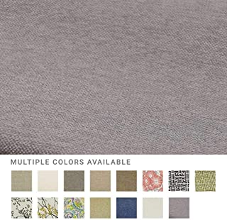 eLuxurySupply Fabric by The Yard - Polyester Blend Upholstery Sewing Fabrics with LiveSmart Technology - Peyton Slate Pattern