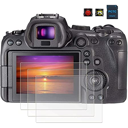 GLASS Expert Shield screen protector for Canon R6