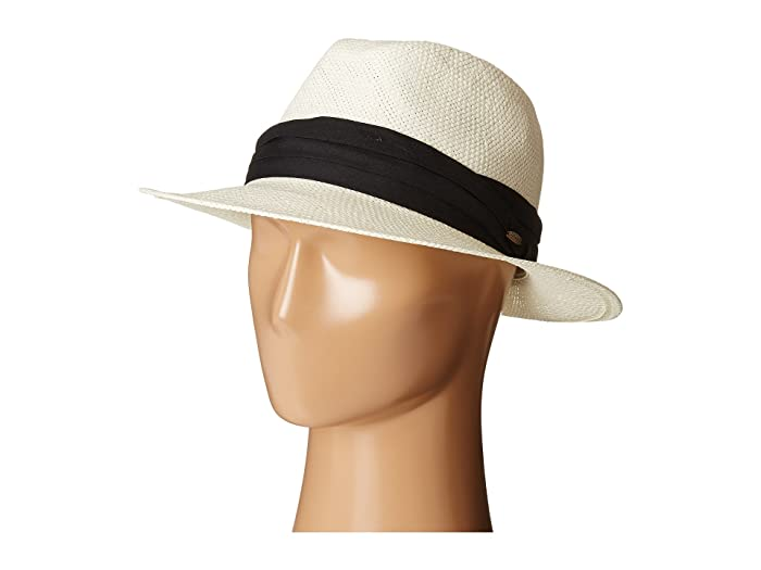 1940s Mens Hats | Fedora, Homburg, Porkpie Hats SCALA Toyo Safari with Black 3 Pleat Cotton Band Natural Safari Hats $37.99 AT vintagedancer.com