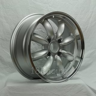 ROTA RB WHEELS 16x7 PCD: 4x100 OFFSET: 40 HB:56.1 SILVER WITH POLISH LIP