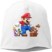 ACMIRAN Super Mario Bro Personalize Female Hood One Size White