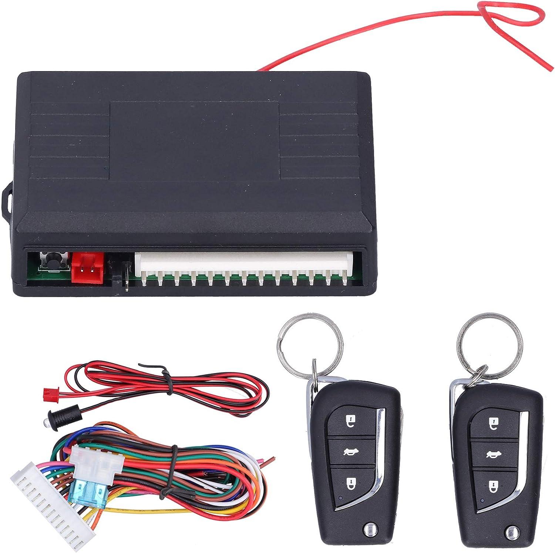 Sistema de Entrada sin Llave para Coche, Sistema de Entrada sin Llave a Distancia automática, Kit de Cierre centralizado de Control Universal para Coche de 12 V