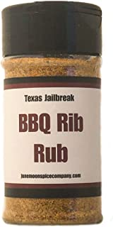 PREMIUM   Texas Jailbreak CLASSIC Smoked Chili BBQ Rub Seasoning   Crafted in Small Batches With Farm Fresh SPICES for Premium Flavor and Zest