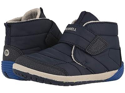 Merrell Kids Bare Steps Boot (Toddler) (Navy) Boys Shoes