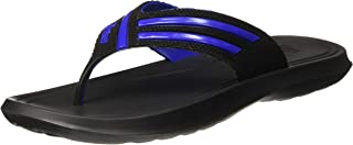 Paragon Men's Black-Blue Flip-Flops - 10 UK (44.5 EU) (A1EV1240GBKB00010G120)