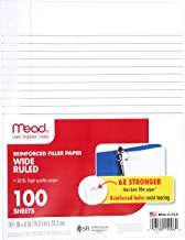wide ruled composition paper