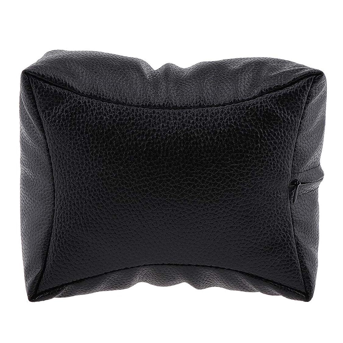 命令パッチ以下DYNWAVE 手枕 ハンドピロー ハンドクッション ネイルアート 個人 家庭 ネイルサロン 4色選べ - ブラック