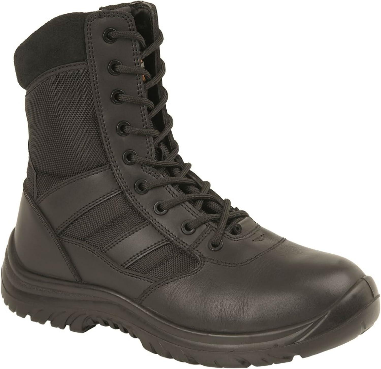 d0a8831a31fb2 Grafters Harrier Unisex Combat Boots Black nqamlf2739-New Shoes ...