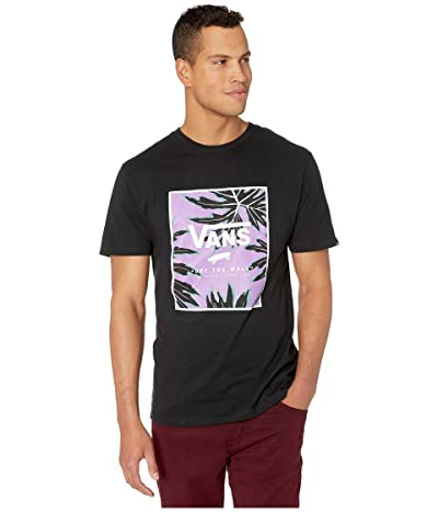 Vans Print Box Tee (Black/Mesa Verde Floral) Men