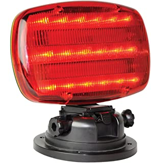 Mag. LED Flasher Red (H.D. tilt base)