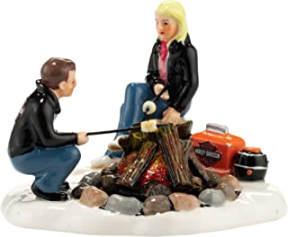 Department 56 Snow Village Harley Campfire Accessory Figurine, 2.95 inch