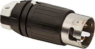 Hubbell CS8165C Locking Plug, 50 amp, 480V, 3 Pole and 4 Wire