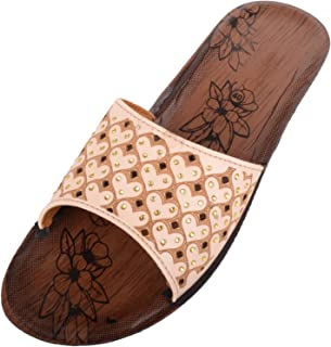 ABSOLUTE FOOTWEAR Womens Light Weight Summer/Holiday/Beach Slip On Wedge Sandals/Shoes
