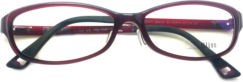 Bliss Prescription Eye Glasses Frame Ultem Super Light, Flexible Bl 3016 C3