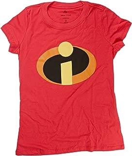 Disney Pixar The Incredibles Logo Juniors T-shirt