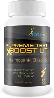 Supreme Test X Boost - LIT - Thermogenic - Shred T3x - Help Boost Metabolism - Assist Fat Burn - Keto Shred - Support Fat Loss and Energy with This Keto Friendly Thermo Burn