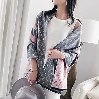 Schal Marke Frauen Winter Schal Kaschmir Schals Print Lady Warme Decke Wraps Weibliche Schals Foulard