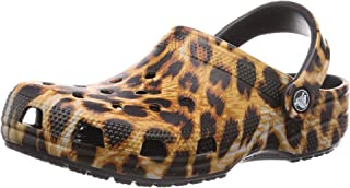Unisex-Adult Classic Animal Print Clog | Zebra and...