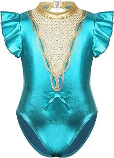 ShiFan Fille Justaucorps De Gymnastique Artistique Danse Body Ballet Classique L/éotard