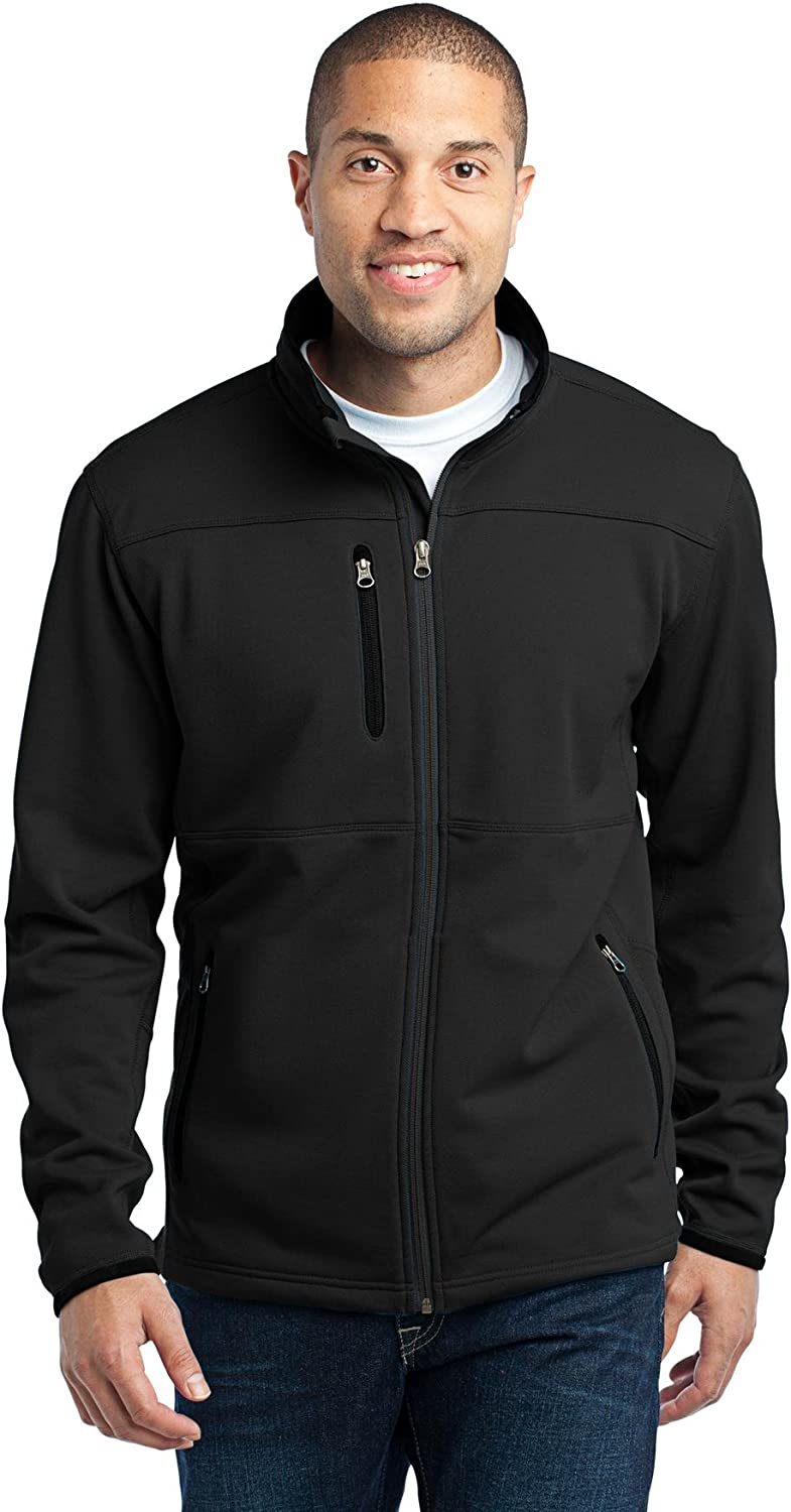 Port Authority Pique Fleece Jacket. F222 Black XL