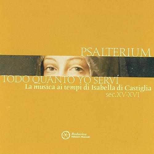 Triste españa sin ventura de Psalterium en Amazon Music - Amazon.es