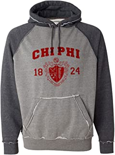 Chi Phi Vintage Heather Hooded Sweatshirt